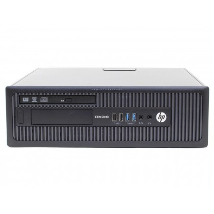 "(Refurbished Desktop) HP EliteDesk 800 G1 SFF - Core i5-4570 3.2GHz (8GB/500GB) With Touch Screen Monitor / 19"" LCD Monitor"