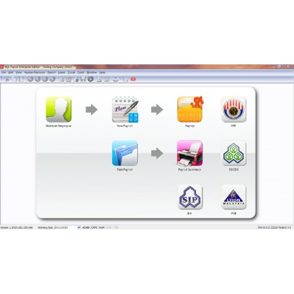 SQL Payroll System - Multi Companies